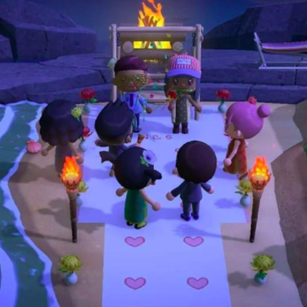 Karena COVID-19, Pasangan Ini Gelar Pernikahan di Video Game