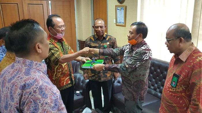 Ketua PN Jaksel Arifin dipromosikan jadi hakim tinggi di Pengadilan Tinggi Medan. (Foto: Dok. PN Jaksel)