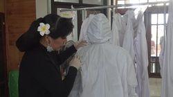 Dihantam Pandemi, Anne Avantie Sebar APD untuk Tenaga Medis