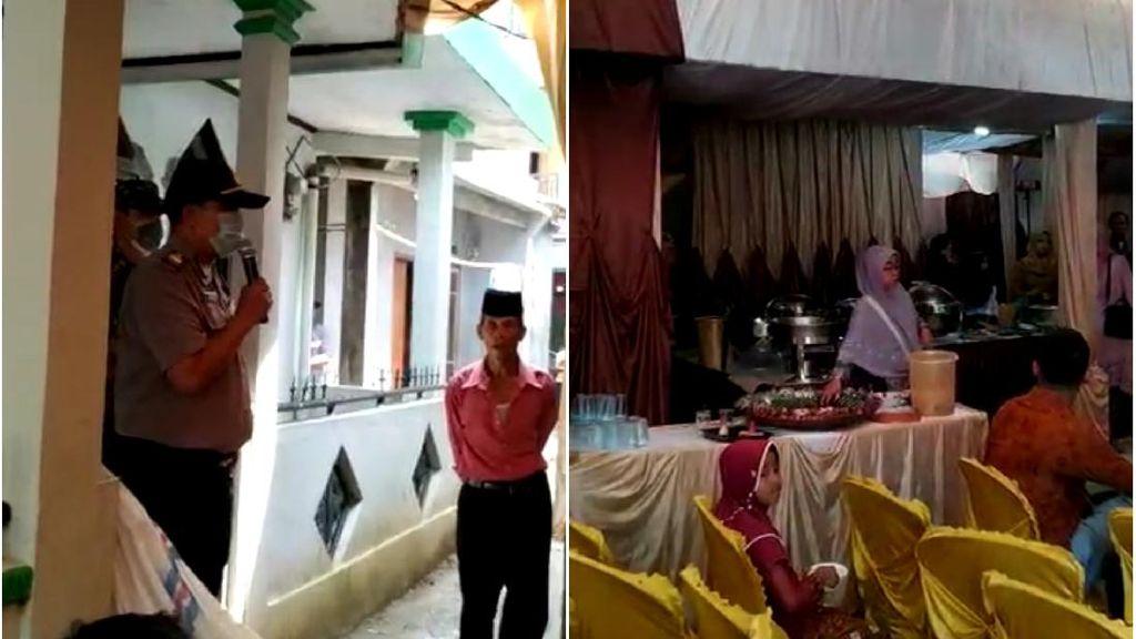 Cegah Corona, Polisi Bubarkan Resepsi Pernikahan di Sukabumi