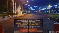 Banyuwangi Terapkan Physical Distancing di RTH Sritanjung dan Pendopo