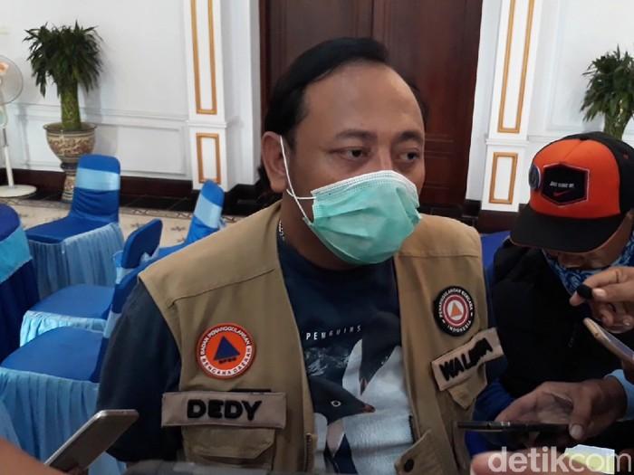 Wali Kota Tegal, Dedy Yon Supriono, Sabtu (28/3/2020).