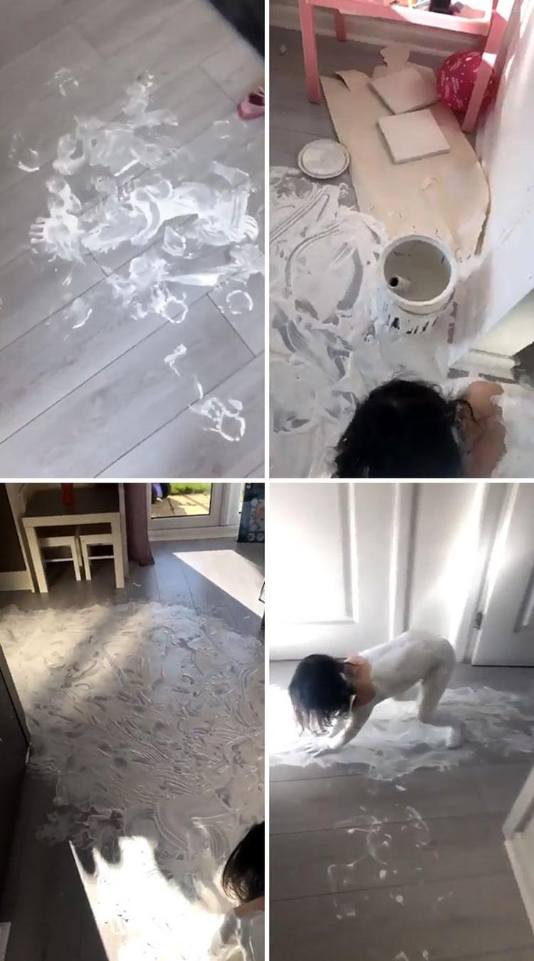 Kelakuan anak saat berada di rumah ketika work from home (WFH) kadang suka bikin pusing kepala. Berikut curhatan para netizen di dunia.