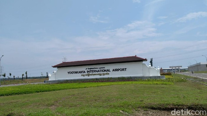 Yogyakarta International Airport (YIA), Kulon Progo, Sabtu (28/3/2020).