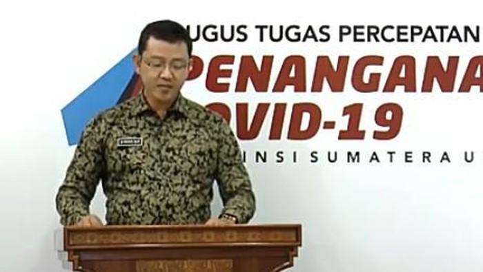 Jubir Gugus Tugas COVID-19 Sumut, Mayor Kes Whiko Irwan
