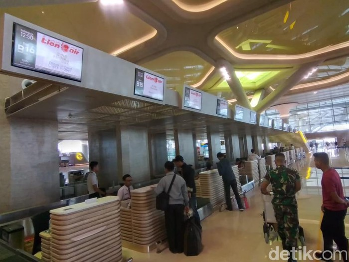 Yogyakarta International Airport (YIA), Kulon Progo, awal Maret 2020.