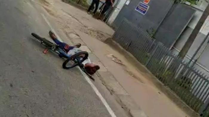 Viral Pria Tergeletak di Jalanan Medan, Polisi Beri Penjelasan