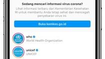 Cegah Misinformasi COVID-19, Instagram Hapus Akun Tidak Resmi