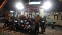 Jalanan Sepi karena Corona, ABG di Kendari Malah Gelar Balap Liar