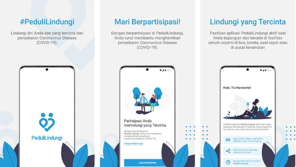 Aplikasi PeduliLindungi untuk Lacak Corona Sudah Tersedia