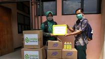 10 Ribu Masker Dibagikan ke Paramedis di Bandung Raya