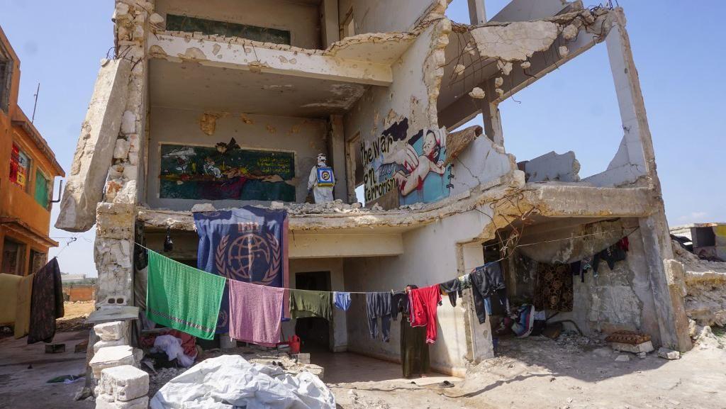 Lebih dari 200 Staf PBB di Suriah Terinfeksi Corona