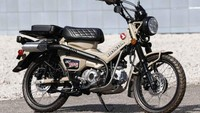 Modifikasi Honda CT125 Hunter Cub, Siap Diajak Touring