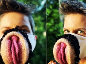 Perawat Jadi Kontroversi Bikin Masker Bentuk Alat Kelamin Wanita