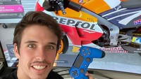Juara Race Virtual MotoGP, Alex Marquez: Fantastis!