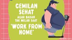 Banyak godaan saat Work from Home, salah satunya banyak cemilan. Jika tidak dikontrol, risikonya berat badan akan melonjak dengan cepat.
