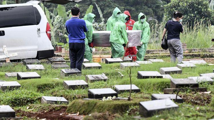 Korban Meninggal Akibat Corona di Indonesia Terus Bertambah