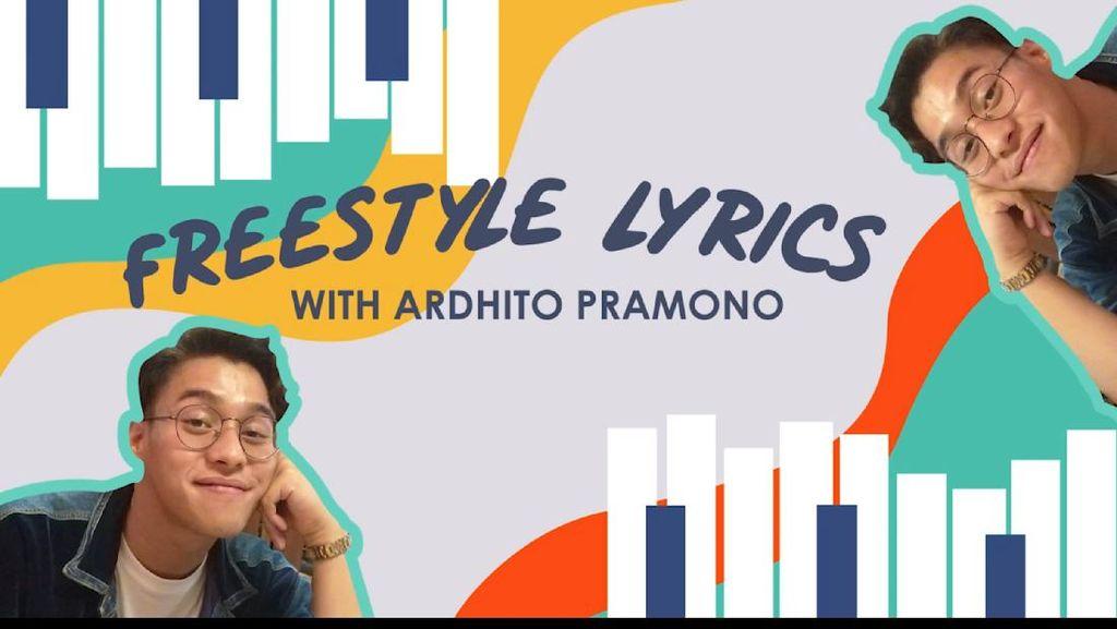 Buat Lagu Kucing, Begini Gaya Ardhito Main Freestyle Lyrics