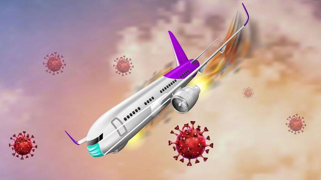 Drama Penerbangan di Tengah Pandemi