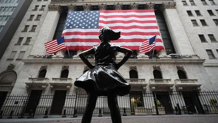 Wall Street New York Kosong Melompong