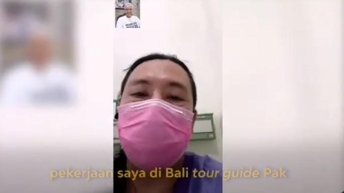 Tangkapan layar pasien Corona sembuh dari Twitter Gubernur Jateng Ganjar Pranowo