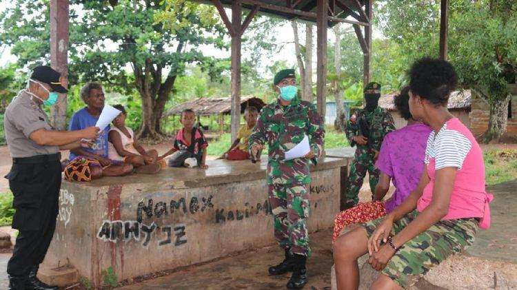 Sosialisasi COVID -19 di Perbatasan Papua