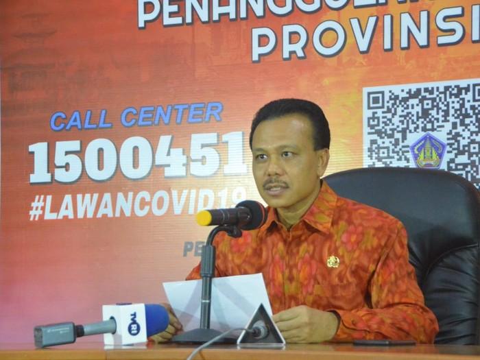 Sekretaris Daerah (Sekda) Bali Made Dewa Indra