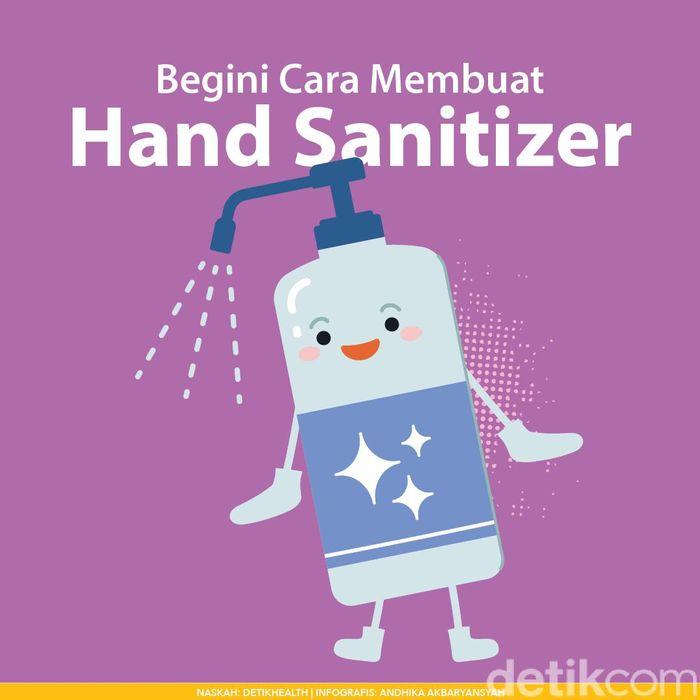 3 Cara Membuat Hand Sanitizer Sendiri