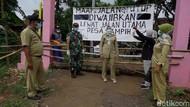 Desa di Pekalongan Juga Ramai-ramai Diisolasi Demi Tangkal Corona
