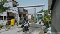 Inovasi Warga Surabaya Cegah Corona, Bikin Gapura Disinfektan Otomatis