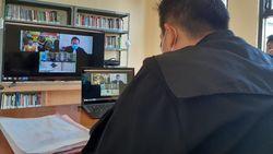 Corona Mewabah, Kejari Kabupaten Malang Sidang dengan Teleconference