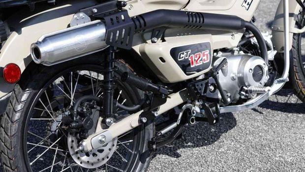 Modifikasi Honda CT125 Hunter Cub
