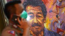 Potret Jenazah Bob Hasan Disemayamkan di Rumah Duka