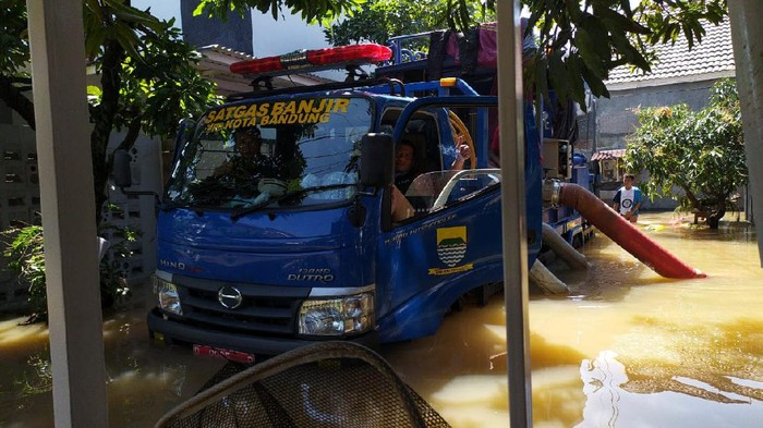 Banjir di Gedebage Bandung