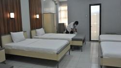 Pemerintah Provinsi Sumsel menyiapkan 900 unit kamar Wisma Atlet Jakabaring Palembang untuk menampung Orang Dalam Pemantauan (ODP) paparan COVID-19.