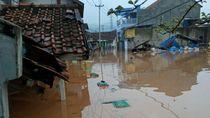 Sungai Cimande Meluap, 2 Dusun di Sumedang Terendam Banjir