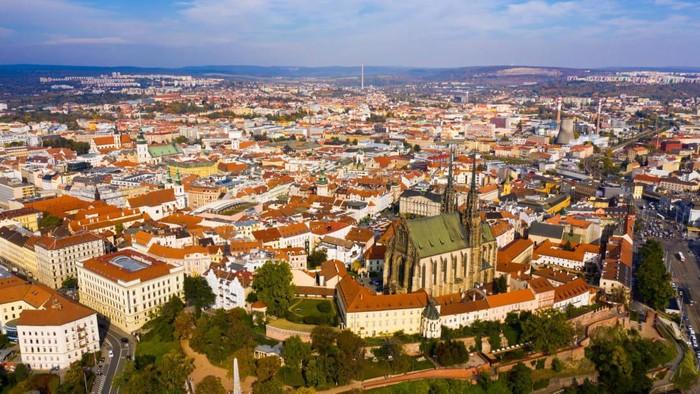 Kota Praha dan Brno di Republik Ceko