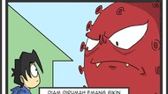 Rupa-rupa Gambar Virus Corona Karya Seniman Indonesia