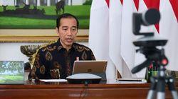Kata Jokowi di Tengah Pandemi, Tangan Tak Cuma Dicuci Tapi Dikunci