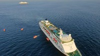Potret Kapal Pesiar Balik Kandang Diterjang Corona