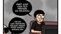 Komik Kancut, Humor Pelepas Dahaga saat Stay at Home