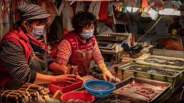 Dibuka Kembali, Pasar di Wuhan Tetap Menjual Hewan Liar