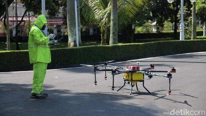 Drone Disinfektan untuk Jawa Barat