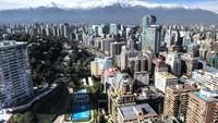 Ini Kota Santiago de Chile. Negara Chile masih tertutup bagi turis biasa (Foto: CNN)