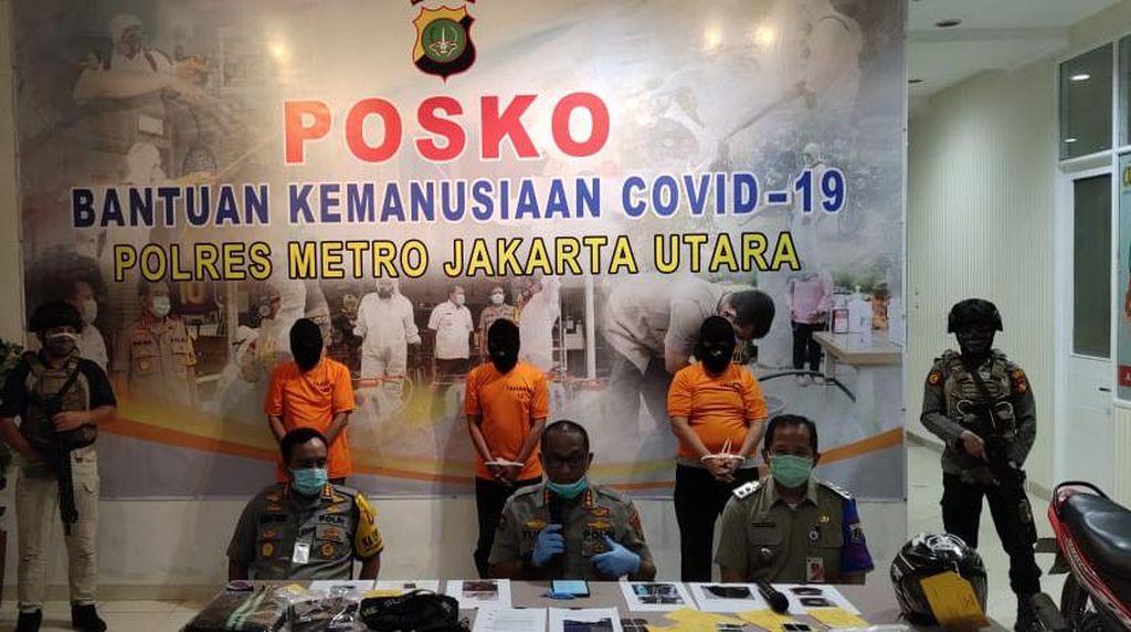Polisi Tangkap 3 Orang Terkait Hoax Corona di Jakarta Utara