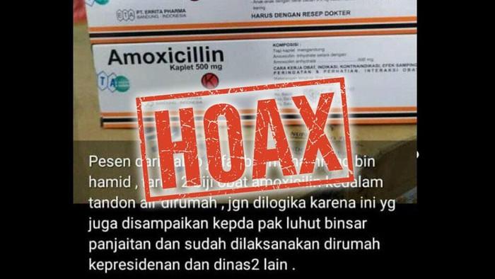 amoxicillin hoax