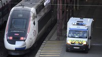 Antar Pasien Corona ke RS, Prancis Sulap Kereta Cepat TGV Jadi Ambulans