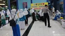 Puluhan Santri Nurul Jadid Paiton Probolinggo Pulang ke Pasuruan