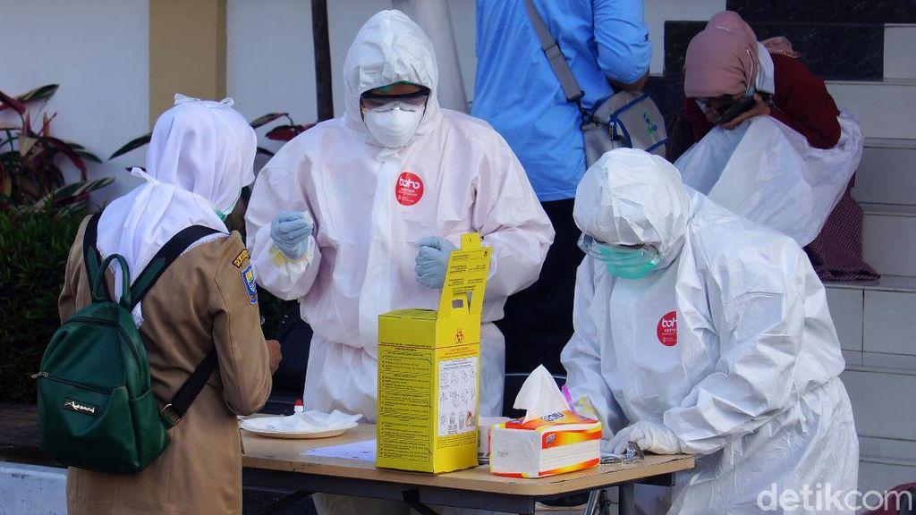 Rapid Test di Cimahi, 154 Orang Negatif Corona