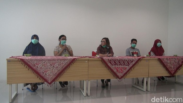 Empat pasien positif Corona di Semarang yang dinyatakan sembuh, Selasa (31/3/2020).